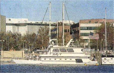 Kelly C: Home away from home: Rep. Randy 'Duke' Cunningham lives on the yacht Kelly C when he's in Washington, D.C.