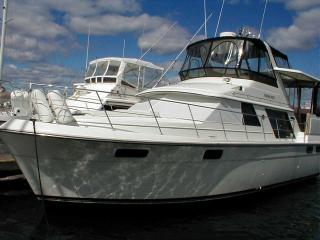 Typical 42' 1987 Carver, the same make, model, and year as Duke-Stir